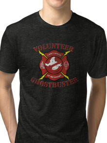 Volunteer Ghostbusters Tri-blend T-Shirt