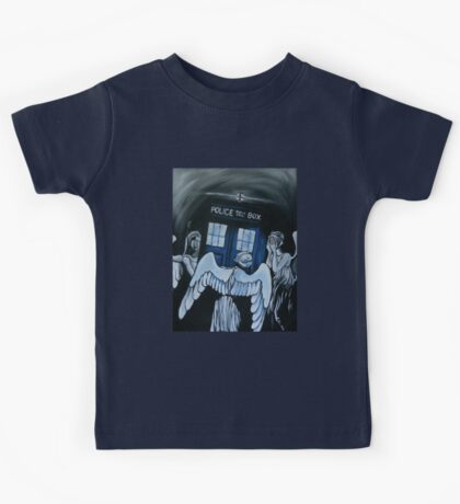 The Angels Have the Phone Box Kids Tee