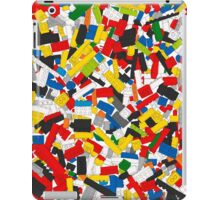Lots of Coloured Toy Bricks (Lego) iPad Case/Skin