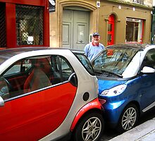 Tight_Squeeze_Parking_in_Paris by Keith Richardson