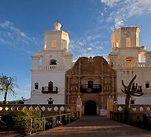 San Xavier Del Bac by Marvin Collins