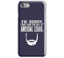 Awesome Beard iPhone Case/Skin