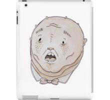 Pudgy cartoon creature water-colour iPad Case/Skin