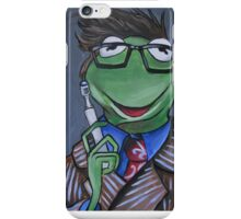 Kermit, Tenth Doctor iPhone Case/Skin