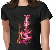 Subtile pattern Womens Fitted T-Shirt