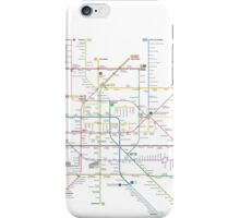 Mexico metro map iPhone Case/Skin
