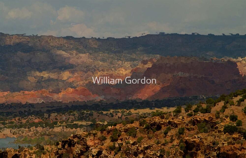 Abiquiu Hills by William Gordon