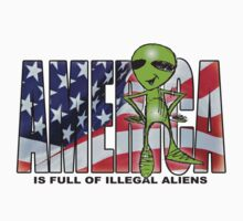 america is full of illegal aliens by redboy