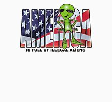 america is full of illegal aliens Long Sleeve T-Shirt
