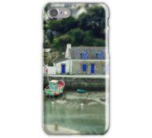 Port du Bono Brittany France - Tilt Shift Effect iPhone Case/Skin