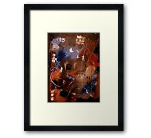 Life's Ups And Downs Framed Print