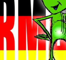 germany is full of illegal aliens Sticker
