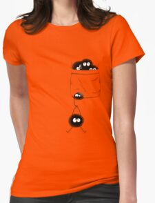 A Pocket Full of Soot Womens Fitted T-Shirt