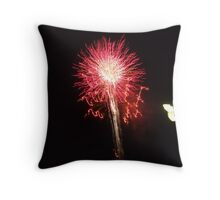 With a Bang! Throw Pillow