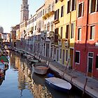 Venice Canal Reflected by BrightWorld