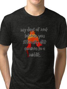 Taken Seriously Tri-blend T-Shirt