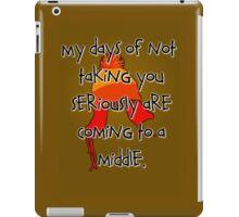 Taken Seriously iPad Case/Skin