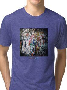Holga Graffiti Tri-blend T-Shirt