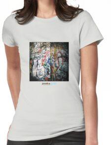 Holga Graffiti Womens Fitted T-Shirt