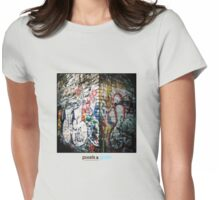 Holga Graffiti Womens Fitted T-Shirt