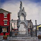 """Kilrush Town Centre"" - Oil Painting by Avril Brand"