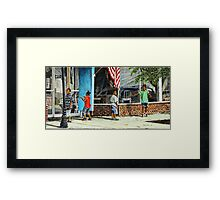 Shadows and Reflections Framed Print