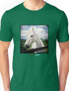 Holga White Horse Unisex T-Shirt