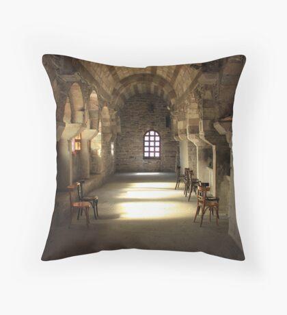 Cathedral Church of Ekatontapiliani ~ Parikia, Paros Throw Pillow
