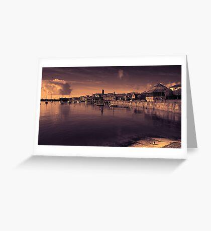 Penzance Toned  Greeting Card