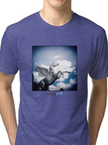 Holga Zinc Horse Tri-blend T-Shirt