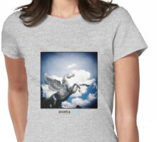 Holga Zinc Horse Womens Fitted T-Shirt