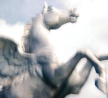 Holga Zinc Horse Sticker