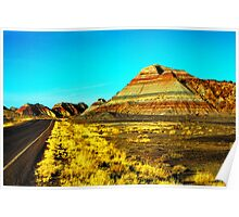 Arizona Badlands Poster