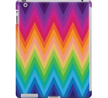 Retro Zig Zag Chevron Pattern iPad Case/Skin