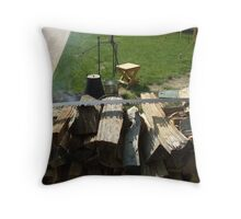 Sawed Off Throw Pillow