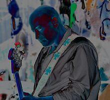 Blue Man Chris by William Gordon