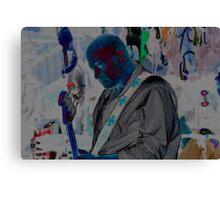 Blue Man Chris Canvas Print