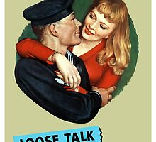Sailor Beware! Loose Talk Can Cost Lives by warishellstore