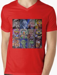 Mahna Mahna Doctor Mens V-Neck T-Shirt