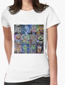 Mahna Mahna Doctor Womens Fitted T-Shirt