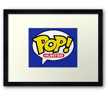 Pop! Hunter Framed Print