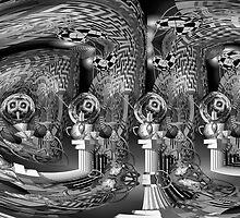 Escher was here...... by Desirée Glanville