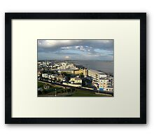 Salthill on Galway Bay Framed Print