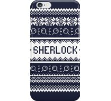 A Very Sherlock Christmas iPhone Case/Skin
