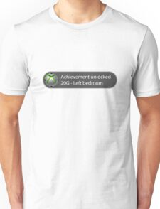Achievement Unlocked - 20G Left bedroom Unisex T-Shirt