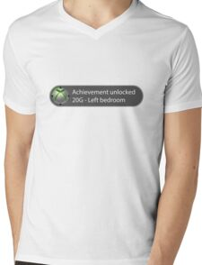 Achievement Unlocked - 20G Left bedroom Mens V-Neck T-Shirt