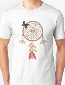 Dream Catcher Butterfly  T-Shirt