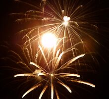 Fireworks in the northwoods by mixtaperequiems