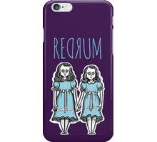 REDRUM iPhone Case/Skin