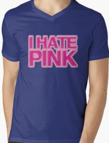 I HATE PINK Mens V-Neck T-Shirt